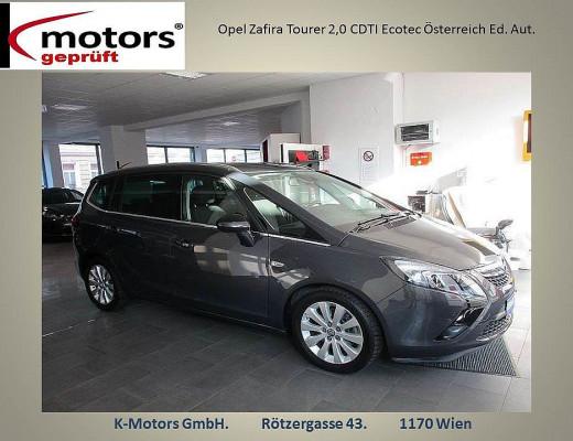 Opel Zafira Tourer 2,0 CDTI Ecotec Österreich Ed. Aut. bei k-motors in