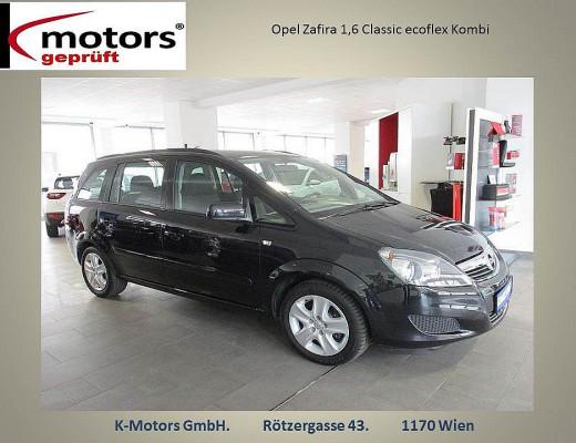 Opel Zafira 1,6 Classic ecoflex bei k-motors in