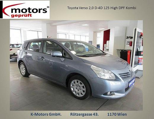 Toyota Verso 2,0 D-4D 125 High DPF bei k-motors in