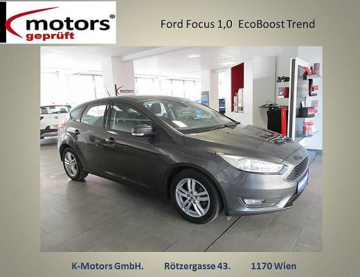 Ford Focus 1,0 EcoBoost Trend bei k-motors in