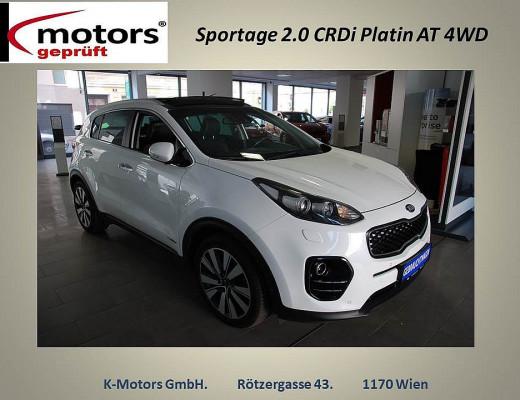 KIA Sportage 2,0 CRDI AWD Platin Aut. bei k-motors in
