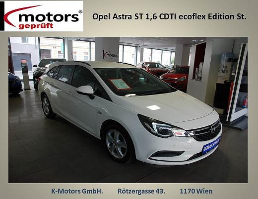 Opel Astra ST 1,6 CDTI ecoflex Edition St./St. bei k-motors in