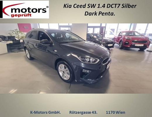 KIA ceed SW 1,4 TGDI ISG Silber DCT bei k-motors in